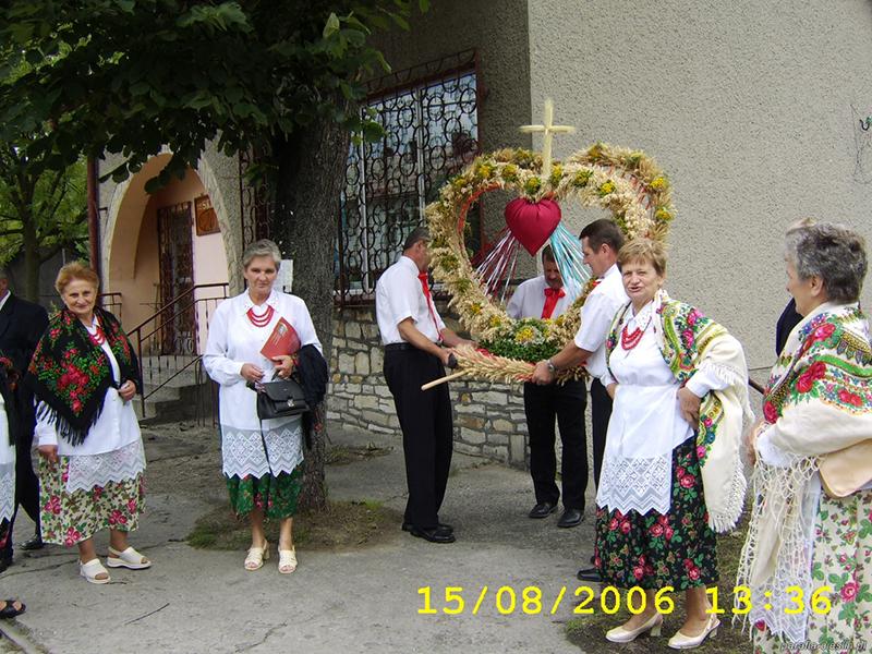 """Dożynki Gminne """"Cieślin 2006"""" (15.08.2006) [001]"""