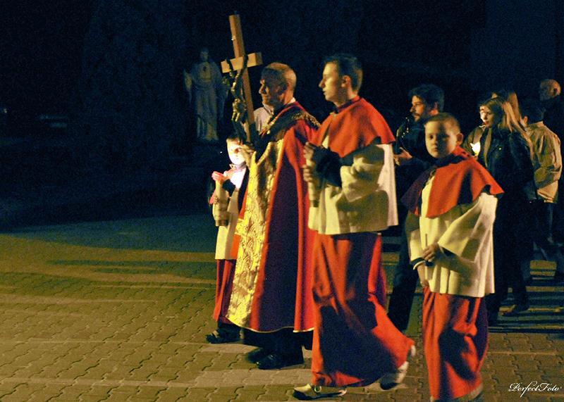 """Droga Krzyżowa """"Na Stawach"""" 2009 r. (10.04.2009) [003]"""