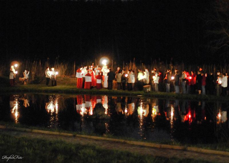 """Droga Krzyżowa """"Na Stawach"""" 2009 r. (10.04.2009) [012]"""