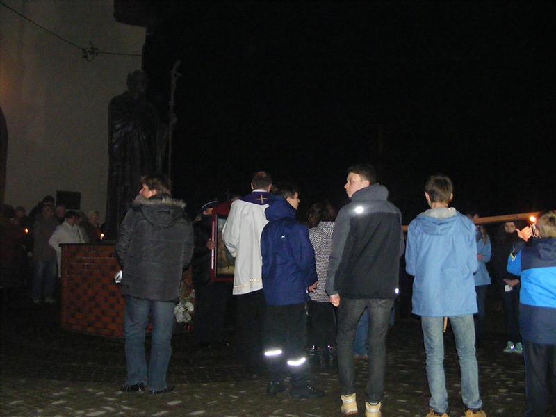 """Droga Krzyżowa """"Na Stawach"""" 2015 r. (27.03.2015) [004]"""