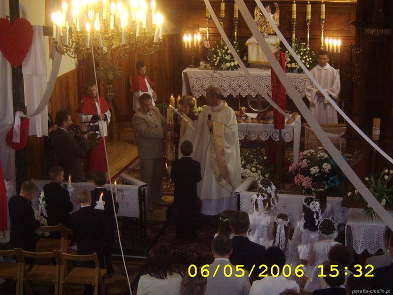 I Komunia Święta 2006 r. (06.05.2006) [005]