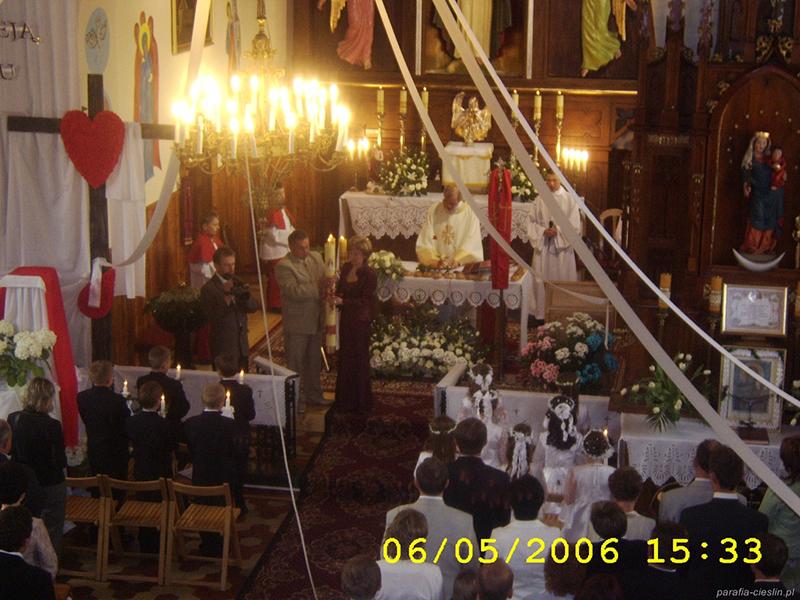 I Komunia Święta 2006 r. (06.05.2006) [006]