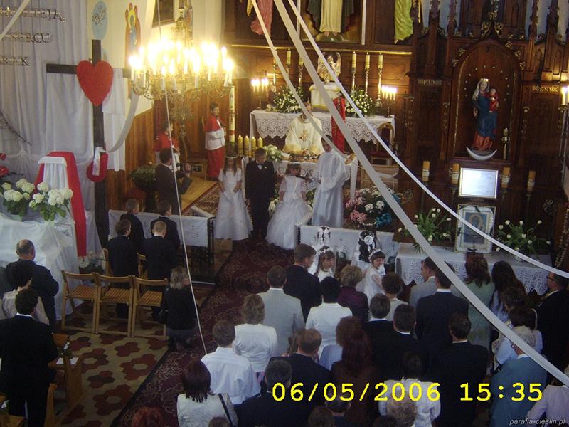 I Komunia Święta 2006 r. (06.05.2006) [007]