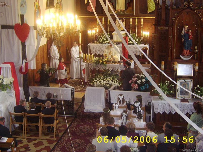 I Komunia Święta 2006 r. (06.05.2006) [014]