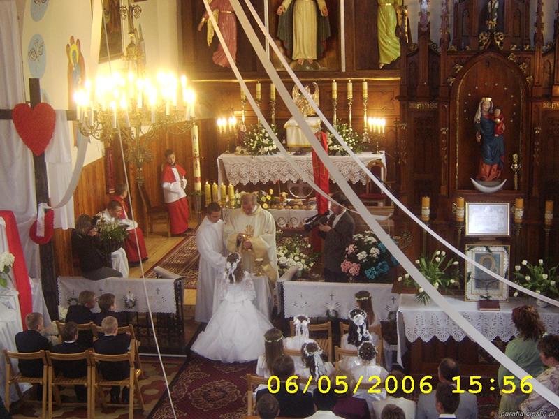 I Komunia Święta 2006 r. (06.05.2006) [015]