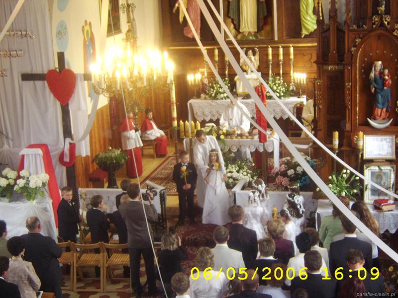 I Komunia Święta 2006 r. (06.05.2006) [016]