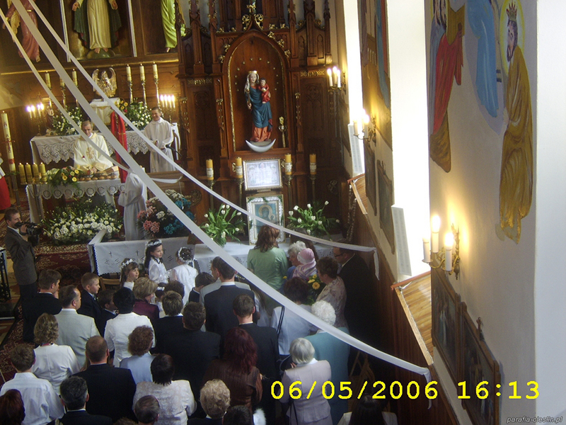 I Komunia Święta 2006 r. (06.05.2006) [021]