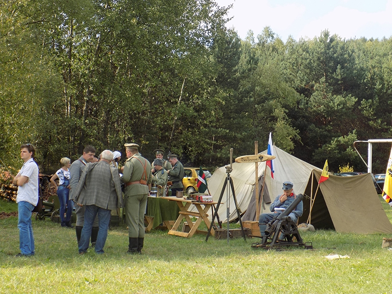 """IV Piknik Historyczny """"JURA 1914"""" w Krzywopłotach (09.09.2017 [002]"""