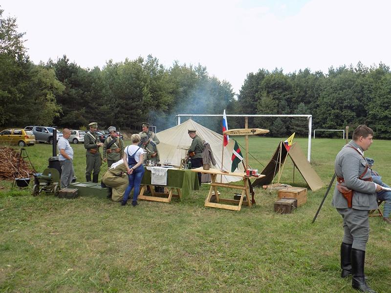 """IV Piknik Historyczny """"JURA 1914"""" w Krzywopłotach (09.09.2017 [006]"""