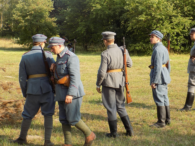 """IV Piknik Historyczny """"JURA 1914"""" w Krzywopłotach (09.09.2017 [041]"""