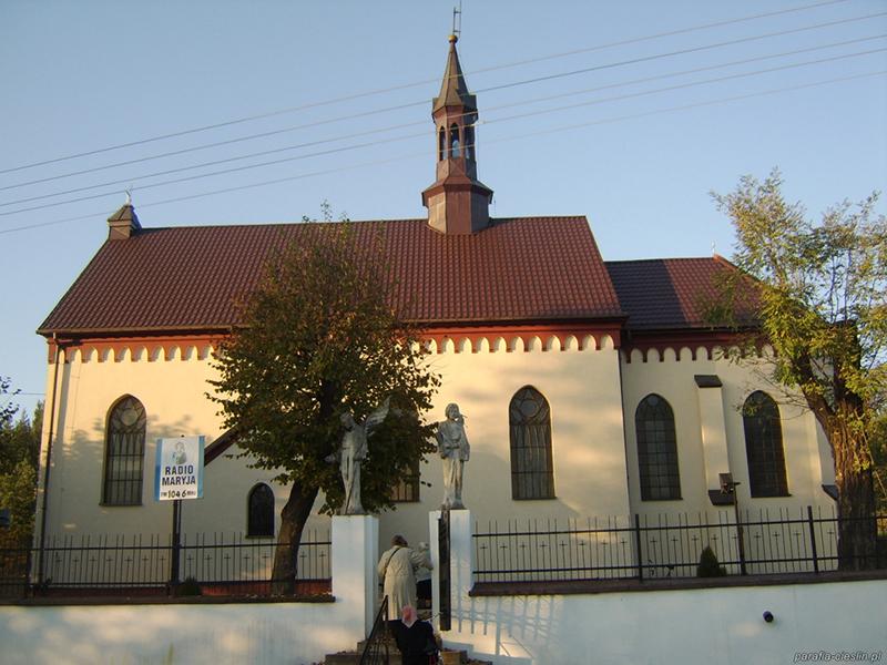 Parafia i wieś Cieślin [008]