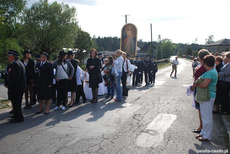 Peregrynacja Obrazu Jezusa Miłosiernego 2012 r. (30-31.05.2012) [024]