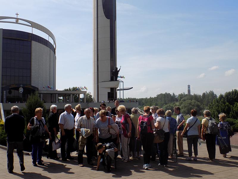 Pielgrzymka Diecezji Sosnowieckiej do Sanktuarium Bożego Miłosierdzia w Krakowie-Łagiewnikach (04.06.2016) [020]