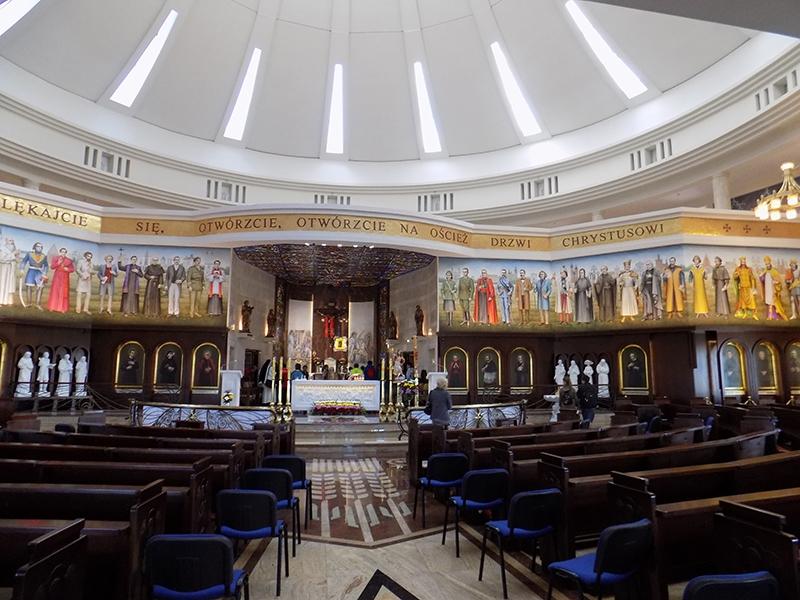 Pielgrzymka Diecezji Sosnowieckiej do Sanktuarium NMP Gwiazdy Nowej Ewangelizacji i św. Jana Pawła II w Toruniu (14.04.2018) [009]