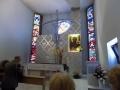 Pielgrzymka Diecezji Sosnowieckiej do Sanktuarium NMP Gwiazdy Nowej Ewangelizacji i św. Jana Pawła II w Toruniu (14.04.2018) [003]