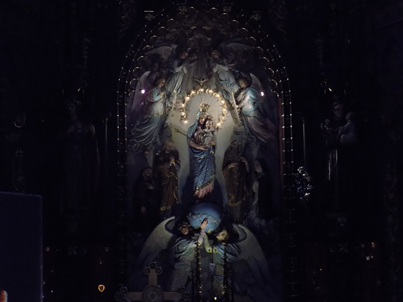 Pielgrzymka do Drzwi Świętych w Bazylice NMP Anielskiej w Dąbrowie Górniczej (22.10.2016) [012]
