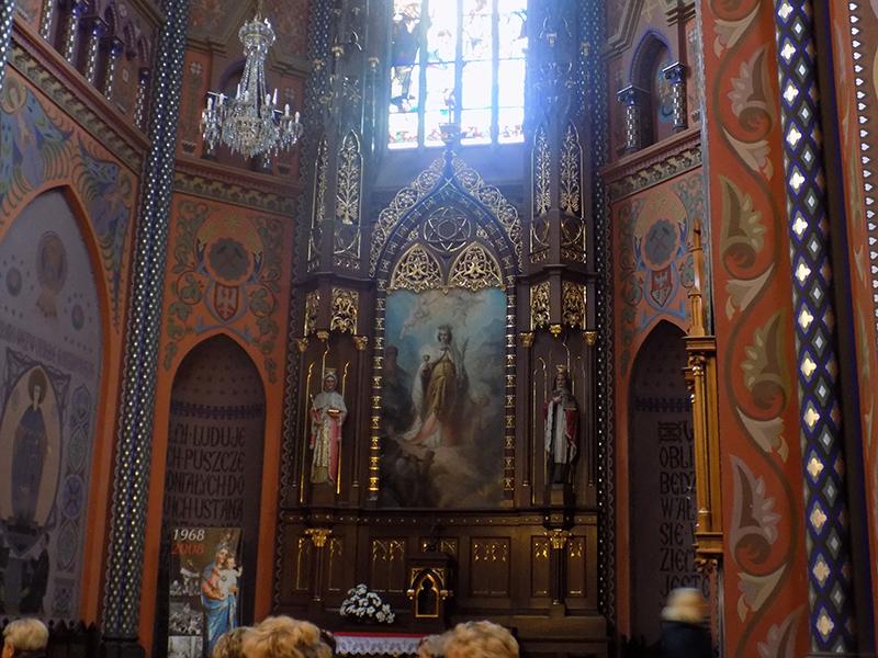 Pielgrzymka do Drzwi Świętych w Bazylice NMP Anielskiej w Dąbrowie Górniczej (22.10.2016) [013]