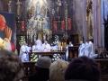 Pielgrzymka do Drzwi Świętych w Bazylice NMP Anielskiej w Dąbrowie Górniczej (22.10.2016) [031]