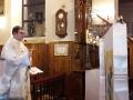 Poświęcenie nowej chorągwi procesyjnej ufundowanej przez mieszkańców Kolbarku (19.01.2018) [006]