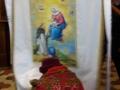 Poświęcenie nowej chorągwi procesyjnej ufundowanej przez mieszkańców Kolbarku (19.01.2018) [008]