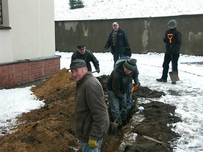 [019] Budowa i montaż instalacji gazowej do ogrzewania kościoła (11.02.2016) (1)