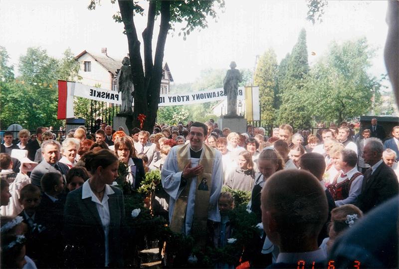 Prymicje ks. Pawła Pielki (03.06.2001) [010]