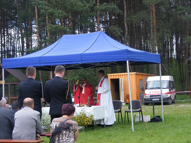 Święto św. Floriana – strażackie uroczystości gminne w Kolbarku (07.05.2016) [015]