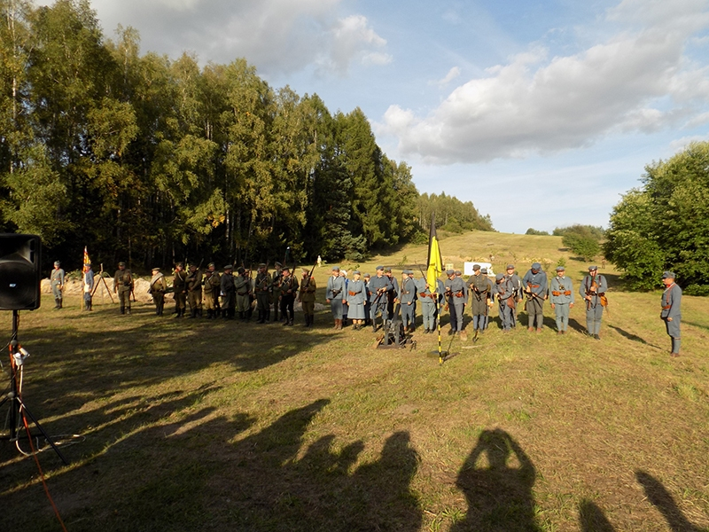 VI Piknik Historyczny JURA 1914 w Krzywopłotach (14.09.2019) [058]