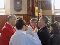 Wizyta kanoniczna ks. bp Grzegorza Kaszaka w parafii (09.04.2017) [025]