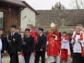 Wizyta kanoniczna ks. bp Grzegorza Kaszaka w parafii (09.04.2017) [047]