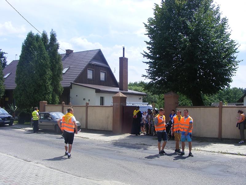 [009] XXXI Piesza Pielgrzymka z Trzemeśni na Jasną Górę - Cieślin 13.07.2014 (7)