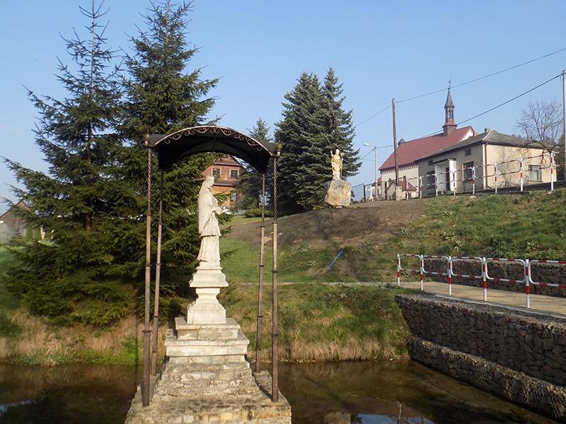 Wzniesienie i poświęcenie figury św. Stanisława BM [016] (09.04.2017)