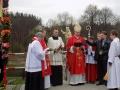 Wzniesienie i poświęcenie figury św. Stanisława BM [012] (09.04.2017)