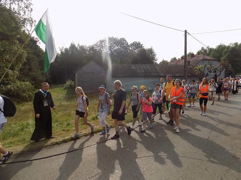 XXVI Sosnowiecka Piesza Pielgrzymka na Jasną Górę (10.08.2017) [030]