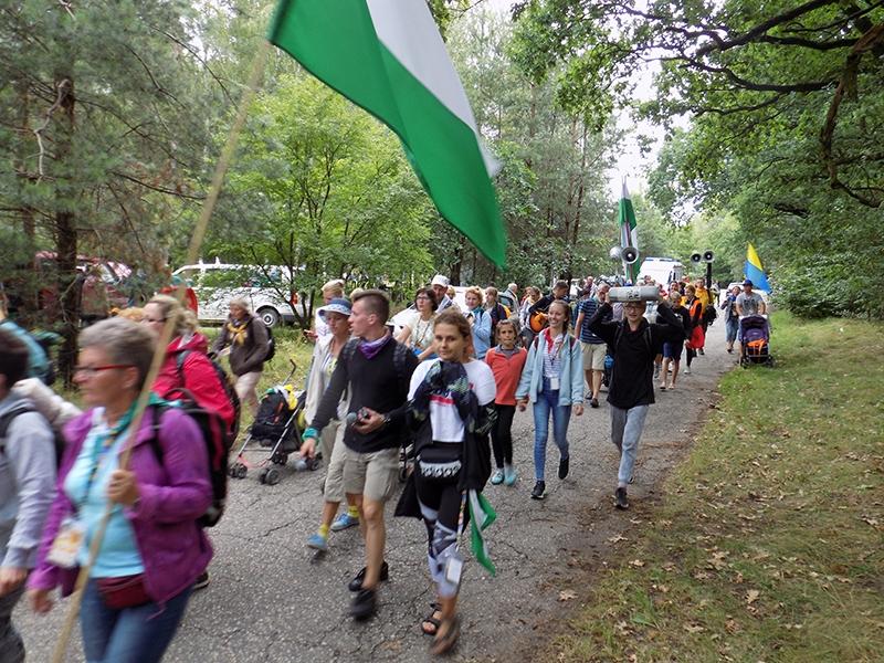 XXVI Sosnowiecka Piesza Pielgrzymka na Jasną Górę (12.08.2017) [095]