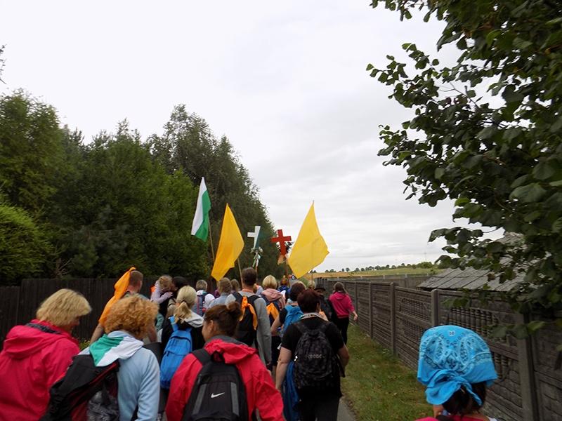 XXVI Sosnowiecka Piesza Pielgrzymka na Jasną Górę (12.08.2017) [106]