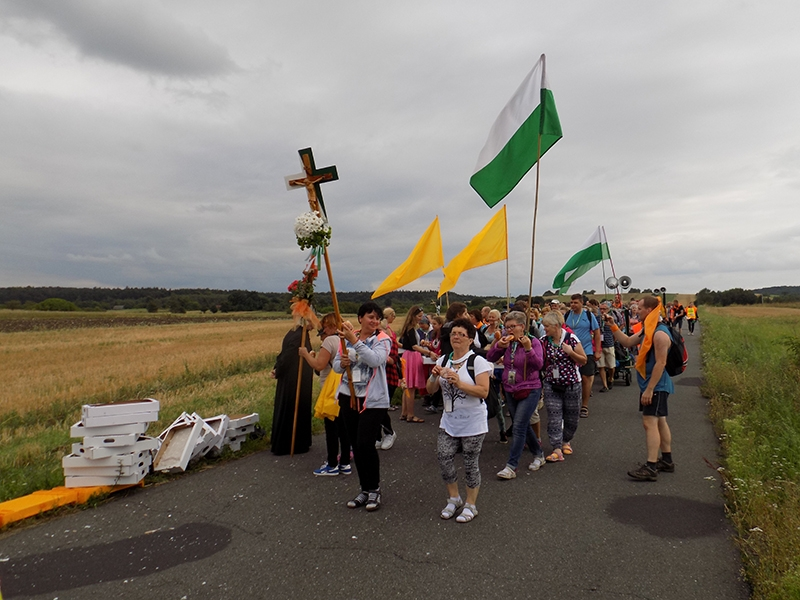 XXVI Sosnowiecka Piesza Pielgrzymka na Jasną Górę (12.08.2017) [109]