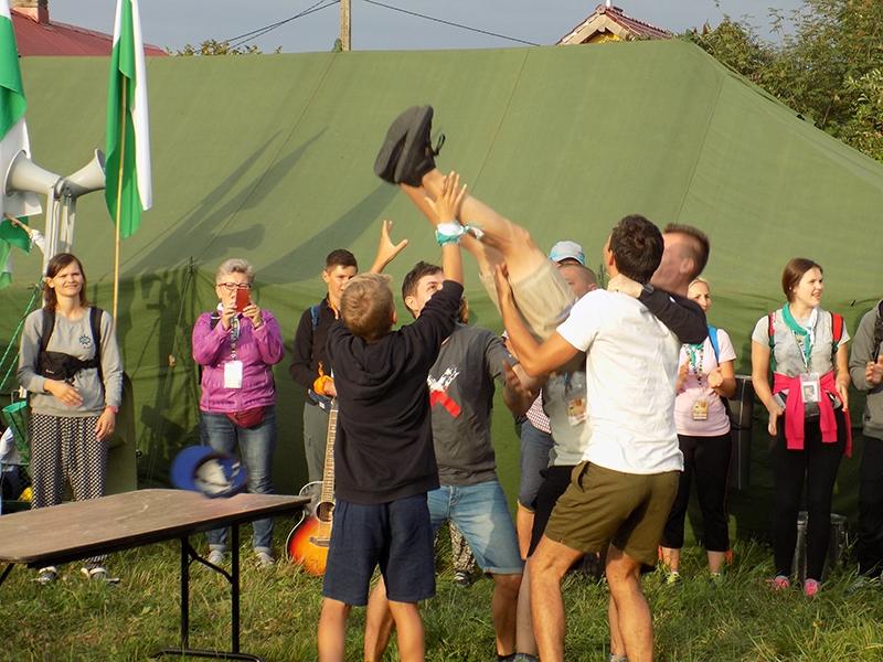 XXVI Sosnowiecka Piesza Pielgrzymka na Jasną Górę (12.08.2017) [114]