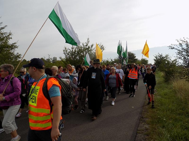 XXVI Sosnowiecka Piesza Pielgrzymka na Jasną Górę (13.08.2017) [129]