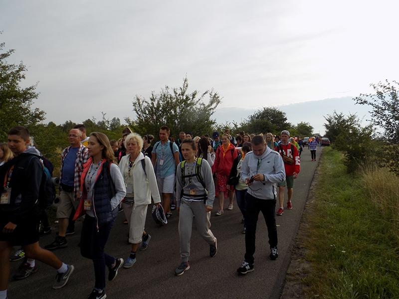 XXVI Sosnowiecka Piesza Pielgrzymka na Jasną Górę (13.08.2017) [131]