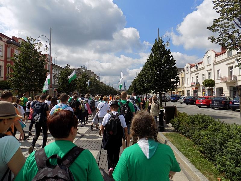 XXVI Sosnowiecka Piesza Pielgrzymka na Jasną Górę (13.08.2017) [144]