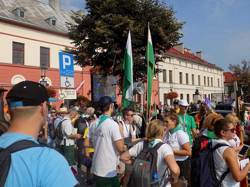XXVII Sosnowiecka Piesza Pielgrzymka na Jasną Górę (09.08.2018) [009]