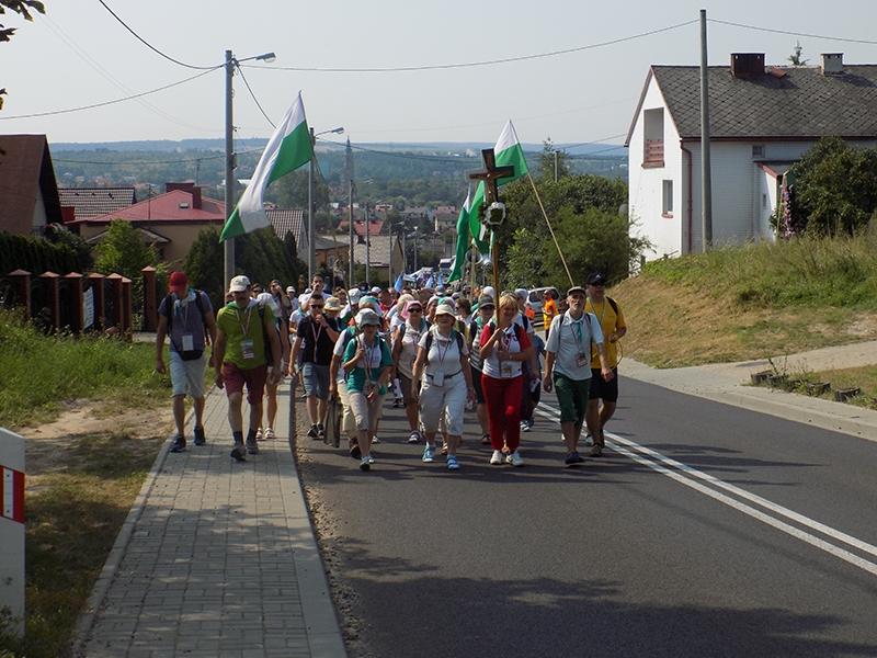 XXVII Sosnowiecka Piesza Pielgrzymka na Jasną Górę (09.08.2018) [010]