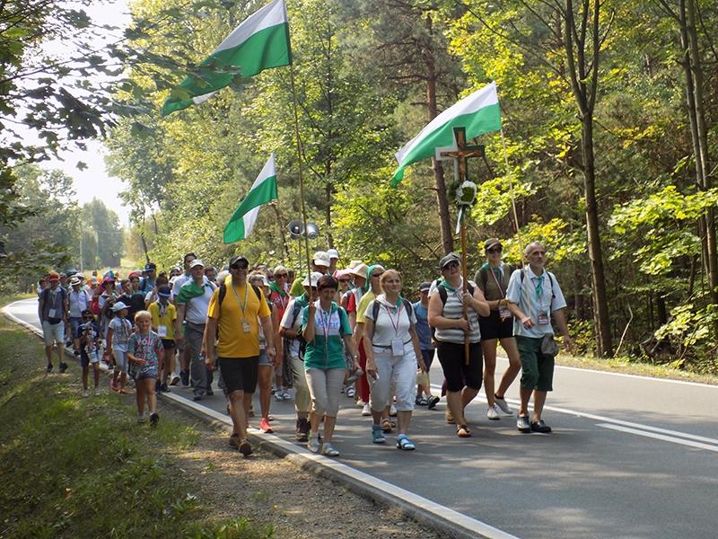 XXVII Sosnowiecka Piesza Pielgrzymka na Jasną Górę (09.08.2018) [011]