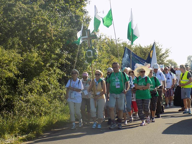 XXVII Sosnowiecka Piesza Pielgrzymka na Jasną Górę (13.08.2018) [077]