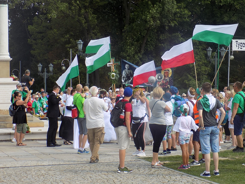 XXVII Sosnowiecka Piesza Pielgrzymka na Jasną Górę (13.08.2018) [103]