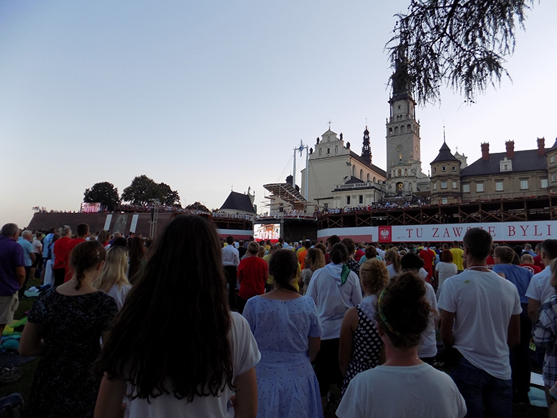 XXVII Sosnowiecka Piesza Pielgrzymka na Jasną Górę (13.08.2018) [119]