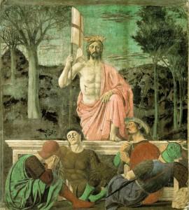 Piero della Francesca - Zmartychwstanie.