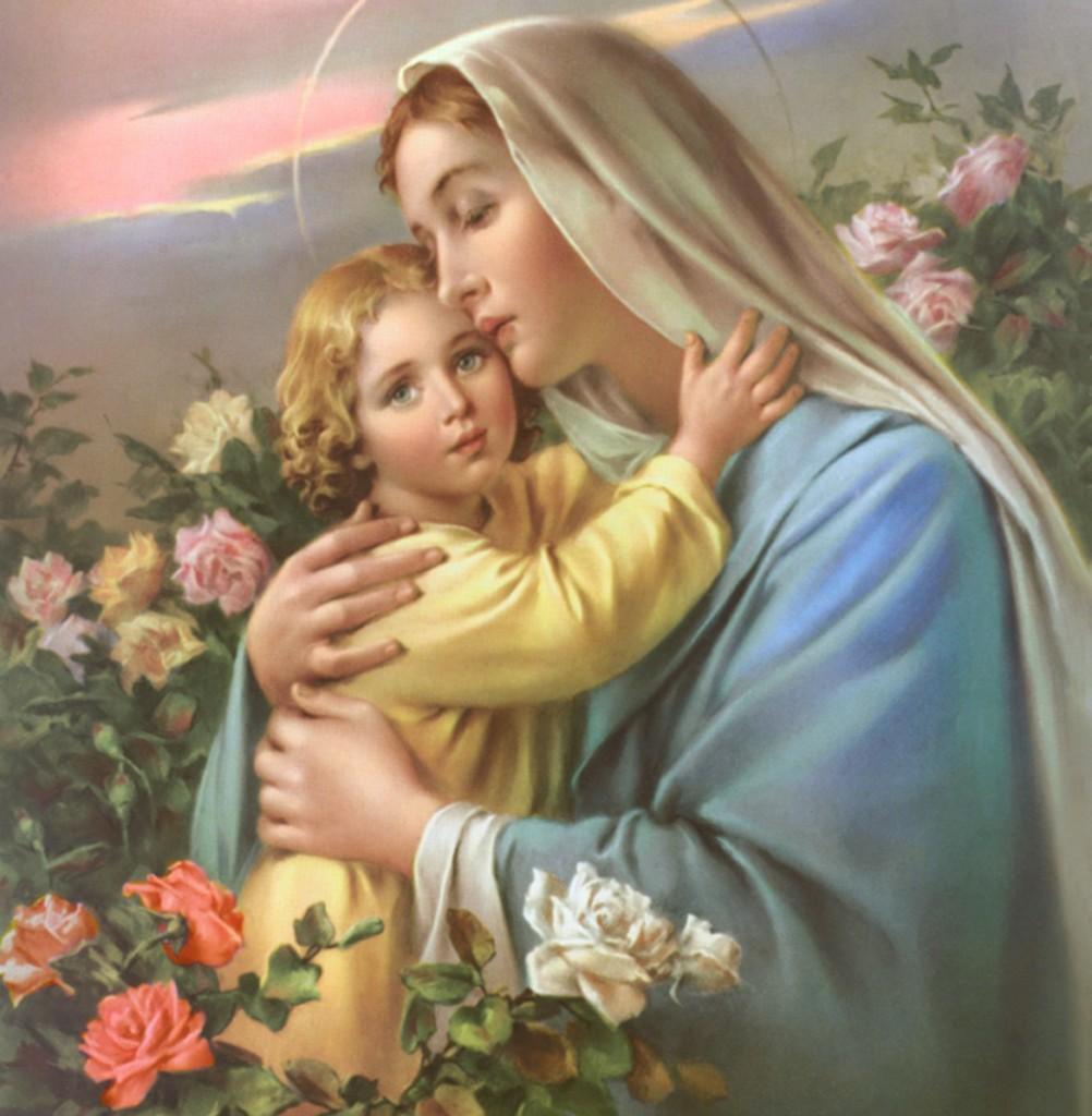 Maryja z Jezusem.