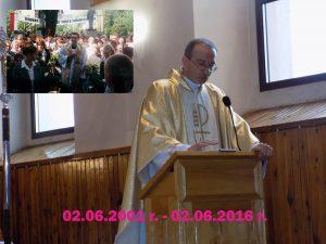 15 lecie kapłaństwa ks. Pawła Pielki